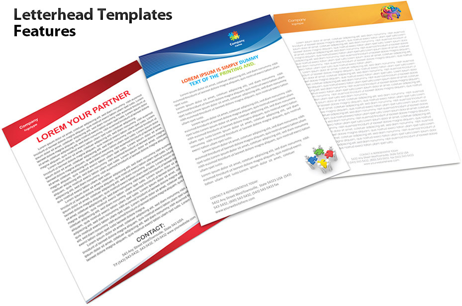 Latterhead Templates Features
