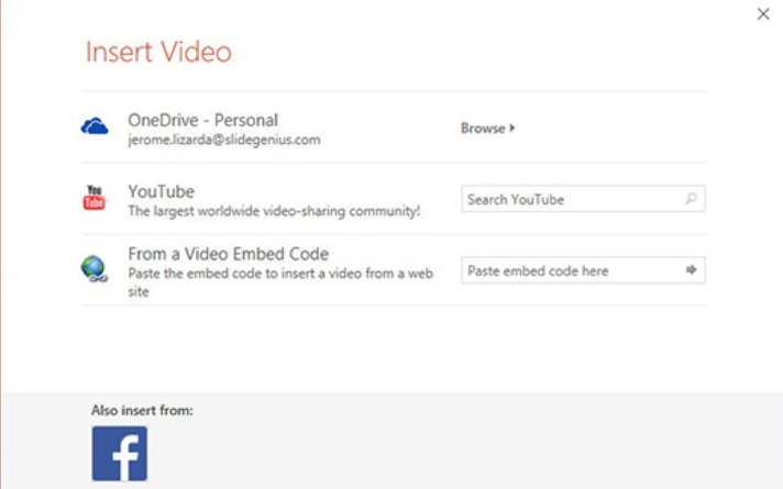 PowerPoint Online – Inserting Videos From YouTube Channels