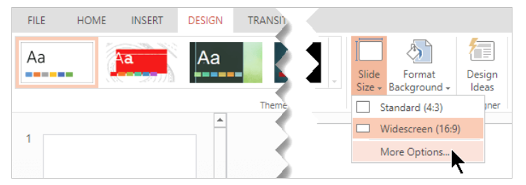 Modifying The Orientation Of PowerPoint Page
