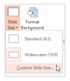 PowerPoint Online – Page Orientation