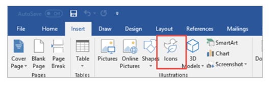Microsoft Office – How Can You Insert Icons